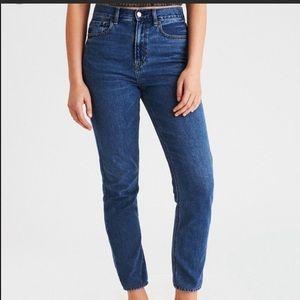 American Eagle Mom Jeans Hi Rise Size 00 Short